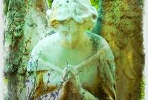 angels and graveyards / by annatgreenoak..
