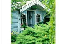 Garden sheds & houses / by Helena Rentmeester