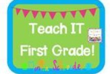 Teach It-First Grade / This board is for great resources for first grade learners.  / by Monica Schroeder: The Schroeder Page!
