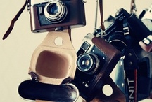 Cameras / I have a love of old cameras / by Tina ~ The Black Star Boutique ~