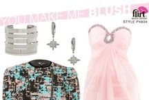 Trend Watch: Colors / 2014 is full of colors and we're covering all the trends here. There's more than just ROYGBIV in our Spring 2014 Collection… Try colors like Blue Kiwi, Funky Pink and Sweet Mint! / by Flirt Prom
