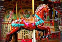 carousel horses / by Roseann Francesconi