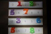 Pre-K Math Work / Education (Pre-K) / by Andi Delmedico