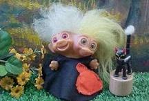 Dam Trolls / Why yes.... I am a weirdo. / by Lori Janicke