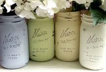 Mason jars / by Kerryanne @ Shabby Art Boutique