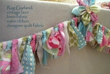 beautiful bunting / by Kerryanne @ Shabby Art Boutique