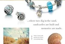 Enchanted Sea / The greatest treasures found in the sea are memories. / by Chamilia Jewelry