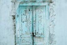 Aqua-Turquoise / by Jacy Joypals