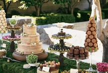 """Not a Meringue in Sight"" - Wedding Cakes, Cookies, Sweet Table / by Esme Cape"
