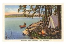 Outdoors: Camping & Hiking . . . / by Ann Hart  ༺♥༻