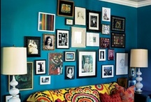 Home: Gallery Walls / by Sarah Hood