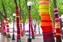 Things I Love - Yarn Bombing / by Sarah Hood