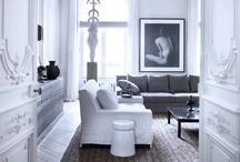 White Interiors / by WallCandy® Arts
