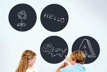 Chalkboard / Dry Erase Wall Decals / Our best selling peel & stick chalkboards and dry erase wall decals. REMOVABLE and REUSABLE. As seen on NBC's TODAY show and in Better Homes and Gardens, People magazine and Reader's Digest.  / by WallCandy® Arts