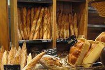 ♨ Ca croustille... Vive le pain ♨ / Quoi de plus délicieux qu'un pain chaud sortant du four ? :) Pain complet, pain blanc, pain de mie, pain aux céréales, pain au levain (mon préféré), pain au lait.... / by Nathalie DAOUT - Social Media