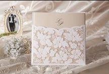 """❦ Mariage : faire part ❦ / Rose ou jaune ? Quel format ? En tissu ou en papier ? Bref, choisir le style de ses """"faire-part"""" de mariage est bien souvent un vrai casse tête. Voici donc quelques idées et inspirations. Enjoy ! / by Nathalie DAOUT - Social Media"""
