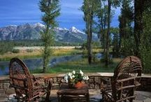 Mountains, Lakes, and Rivers Where I Want to Vacation / by Rhonda Lowe