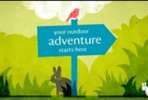 #50things to do / Here's a little secret: the Great Outdoors really is great! It's full of crazy creatures and fantastic adventures. So we've tracked down the 50 coolest outdoor things to do before you're 11¾.  Visit www.50things.org.uk to get involved for free / by National Trust