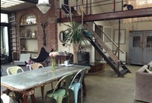 Homes of dreams / Amazing vintage and industrial inspired decor / by Dominga Leone