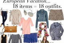 Travel Clothes / Packing lists / by Shannon