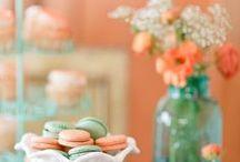 Coral and Aqua Weddings  / by Kay Moran