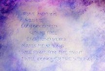 Verses, Songs, Poetry.... / Waldorf-Steiner Inspired Verses, Songs, Poetry, and the like.... / by Kristin W