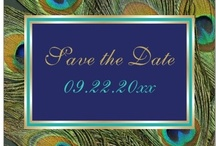 Peacock wedding inspiration / by Modern and stylish weddings