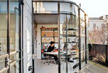 WORK SPACES / by Donna / Champaign Plastics