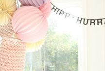 ♡ Sweet table - Party - DIY ♡ / by Ismérie Anglade
