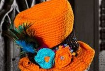 Crochet Hats & Scarfs & ............................ / Beanies & Shawls & Wraps & Ponchos & Socks & Slippers & Neck wraps & Infinity scarfs & Collars & Cuffs & Mitts & Gloves & .............................................................. / by Teresimi