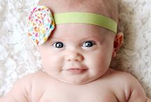 headbands & bows. / by Stefanie @ Lovely Little Snippets