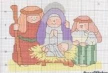 Cross Stitch-Christmas / by Robin Lebleu