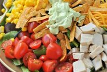 Salads and Dressings / by Lainie