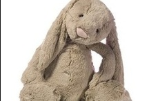 Easter  / Easter is a time of rebirth and renewal. Why not bring home one of these adorably cute, super soft and cuddly bunny rabbits from Fragile Earth? www.feplush.com / by Fragile Earth