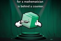 Funny Math Jokes / A collection of some of our favorite math jokes. Share yours with us.  / by Math-U-See