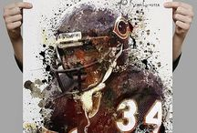 Chicago Bears! / Bear Down Chicago Bears! / by Sherry Brown