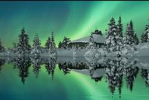 Northern lights to go see / by Vickie Barry