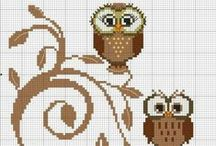 Needlework Patterns  / Collection of free patterns offered by various stitchers and designers / by Laura Holt