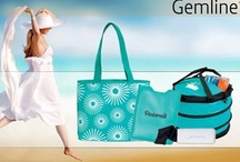 Terrific Turquoise / A hot trend color that you see in retail is turquoise! You see it in women's and men's fashion. A great mix of blue and green that works for everyone. Even some top Fortune 500 companies are expanding their color pallets and adding turquoise.  / by Allyson Gulick Gemline
