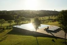 Amazing pools, outdoor & backyard spaces / by Allie Brown