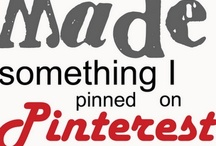 Pinterest Ideas I Have Tried / by Brian Biddiscombe