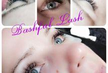 Eyelash Extension / Eyelash extensions #eyelashes / by Bashful Lash