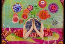 KHY Art Ideas / Possible art for my home yoga studio / by Christy Newsome