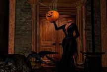 Halloween inspiration, ideas & decorations / Always searching for unique and eerie Halloween decorating ideas.  / by K. Phinney