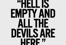 ~Be Informed & Get Involved~ / Give the devil an inch, and he'll become a ruler.   / by K. Phinney