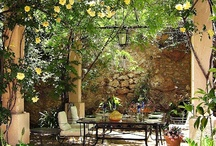 Outdoor spaces / Collecting ideas of how to make our veranda, porch and balcony as comfortable as possible. / by Beatrice Bennett