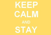 Keep Calm And Enjoy / The Keep Calm posters are amusing me these days. There are a crazy amount of this these posters circulating the internet. Here I collect some of my favourites. Keep Calm And Enjoy! :)   / by Beatrice Bennett