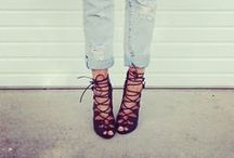 { Head Over Heels } / Shoes shoes shoes I do adore / by Stephanie Hernandez