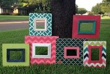 DIY Awesome Frames to Make & Photo Projects / A collection of DIY ideas to do with photos and picture frames... / by Allison Burke
