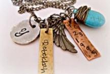 Stamped Metal Jewelry / by Kim at eCrafty.com